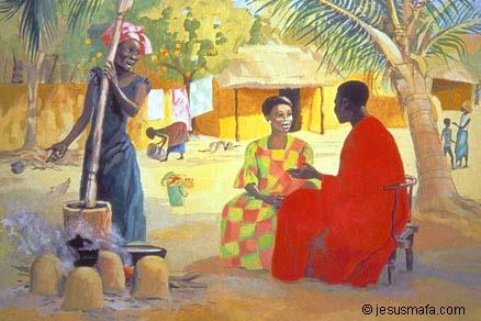 Evangelie door Afrikaanse ogen - Uit Deel 2 : Martha en Maria