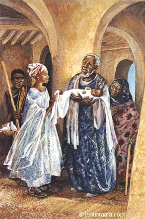 Evangelie Door Afrikaanse Ogen 3a Jezus Opgedragen In