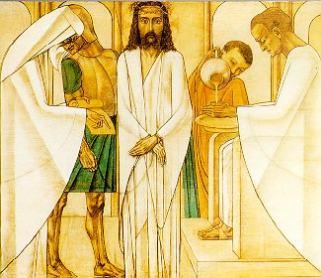 Statie-1: Jezus wordt ter dood veroordeeld en uitgeleverd
