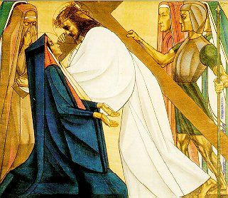 4e statie: Jezus ontmoet zijn moeder