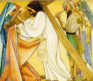 6e statie Veronica troost Jezus