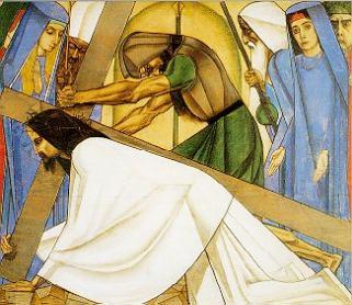 7e statie: Jezus valt weer
