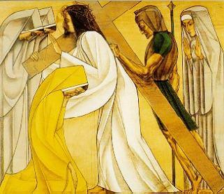 8e statie: Jezus ontmoet de vrouwen