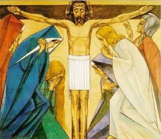 12e statie: Jezus sterft