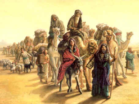 Bps 105 Jahweh Sprak Tot Abraham Trek Weg Uit Uw Land