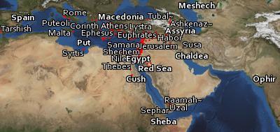 Open hier Bible Geocoding