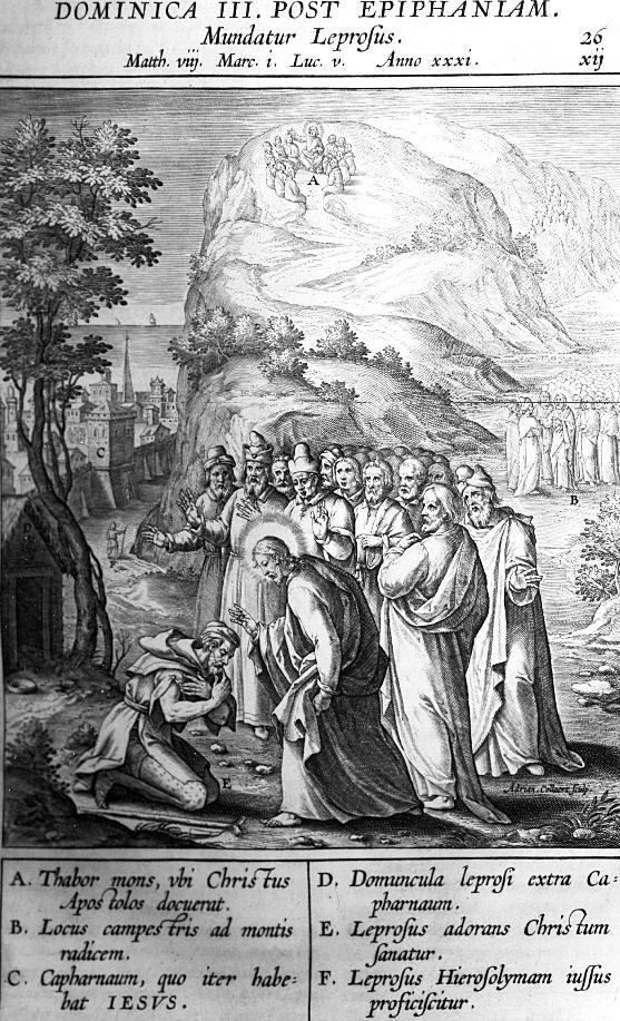 Afbeelding Missale Romanum 026 - EEN MELAATSE GEREINIGD
