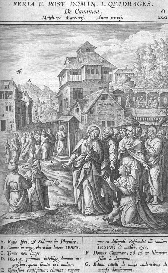 Afbeelding Missale Romanum 061 - DE KANAÄNITISCHE VROUW