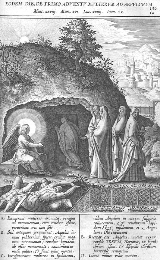 Afbeelding Missale Romanum 136 - DE VROUWEN BIJ HET GRAF ...