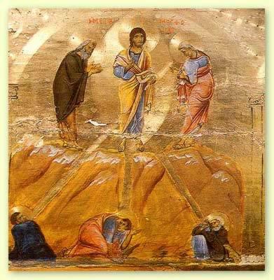 Afbeelding Missale Romanum 063 - DE VERHEERLIJKING OP DE BERG